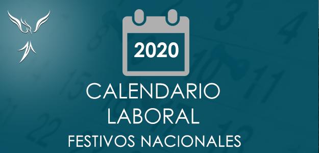 Calendario laboral para 2020