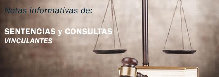 SENTENCIAS y CONSULTAS VINCULANTES Febrero 2020