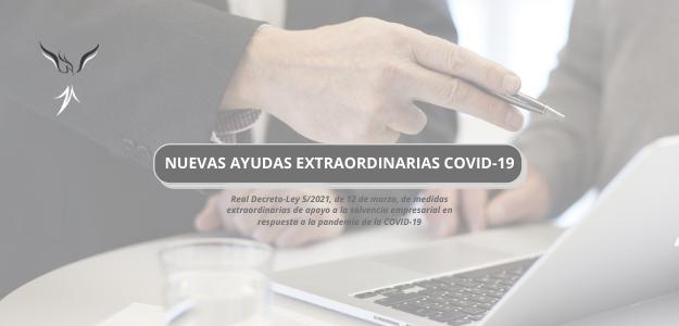 NUEVAS AYUDAS EXTRAORDINARIAS COVID19